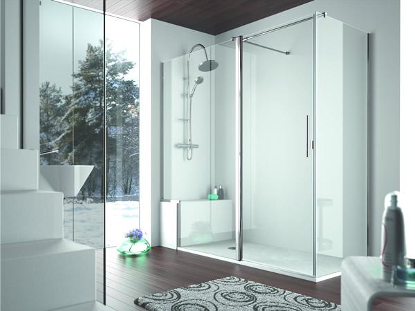 Estilo salónica de ducha
