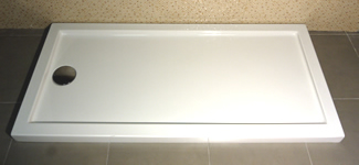 Modelo de suelo para plato de ducha