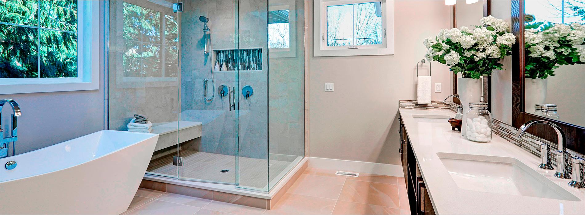 Estilo moderno de cuarto de baño
