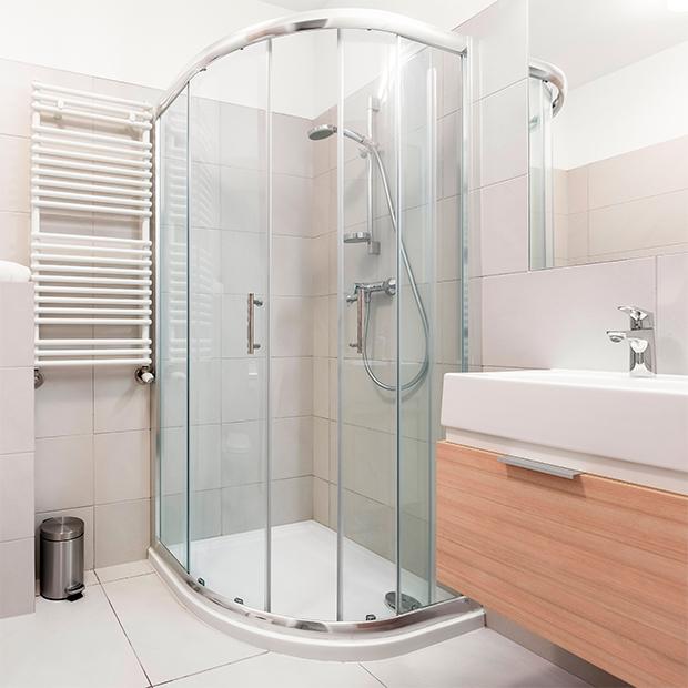 Modelos de mamparas curvas para ducha