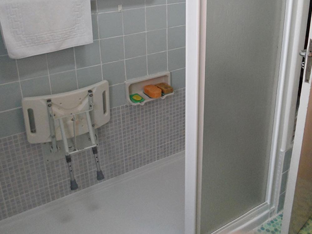 Puertas deslizantes para ducha en cristal opaco