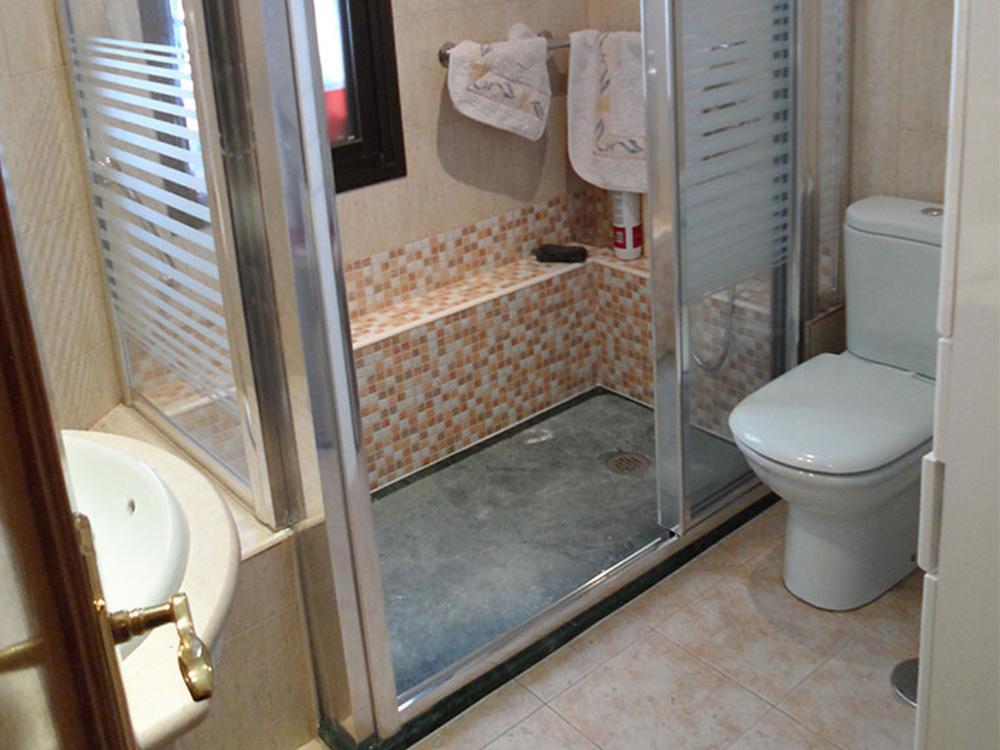 Mampara de cristal deslizante para ducha