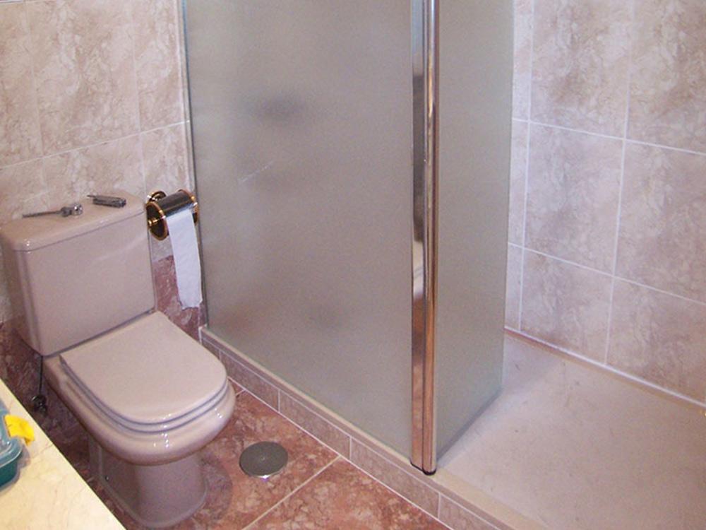 Mampara opaca de ducha