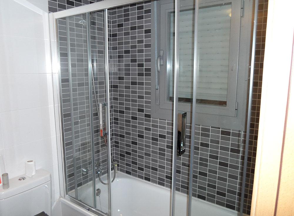 Puertas deslizantes para ducha en cristal