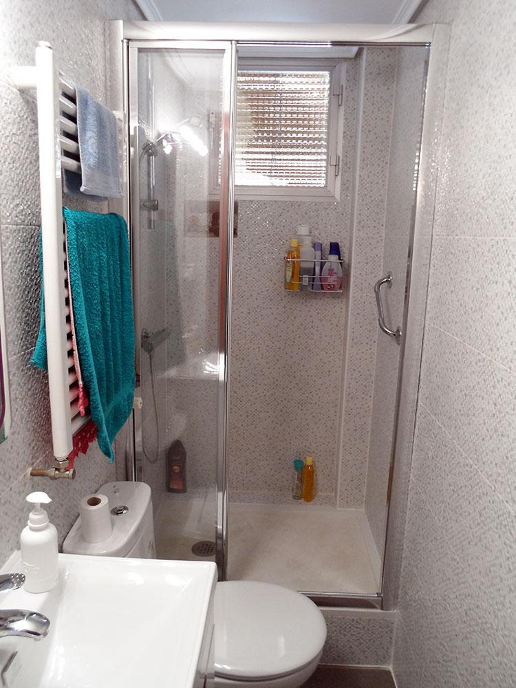 Trabajos realizados en duchas