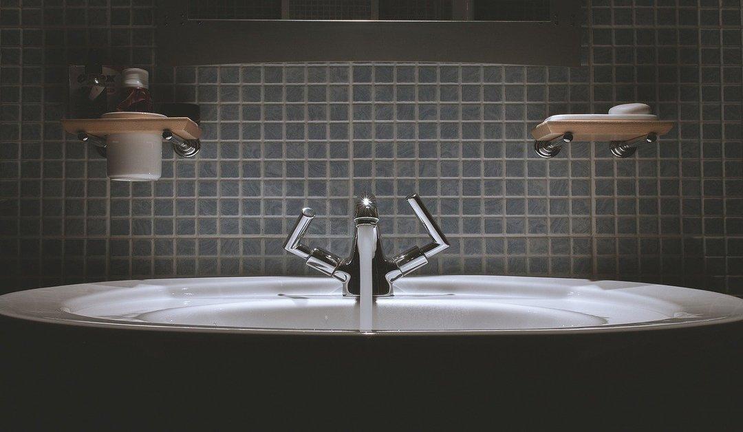 cuarto de baño con azulejos