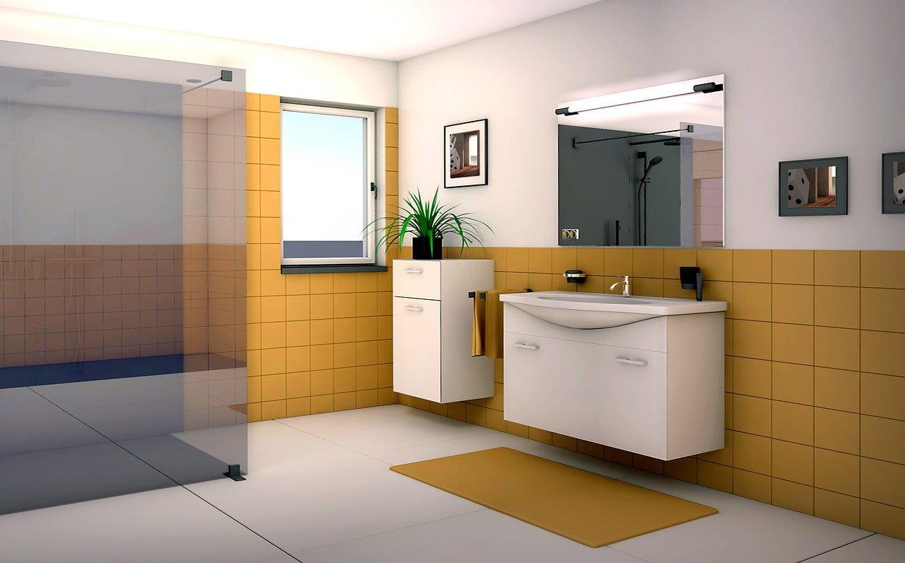 expositor de baños