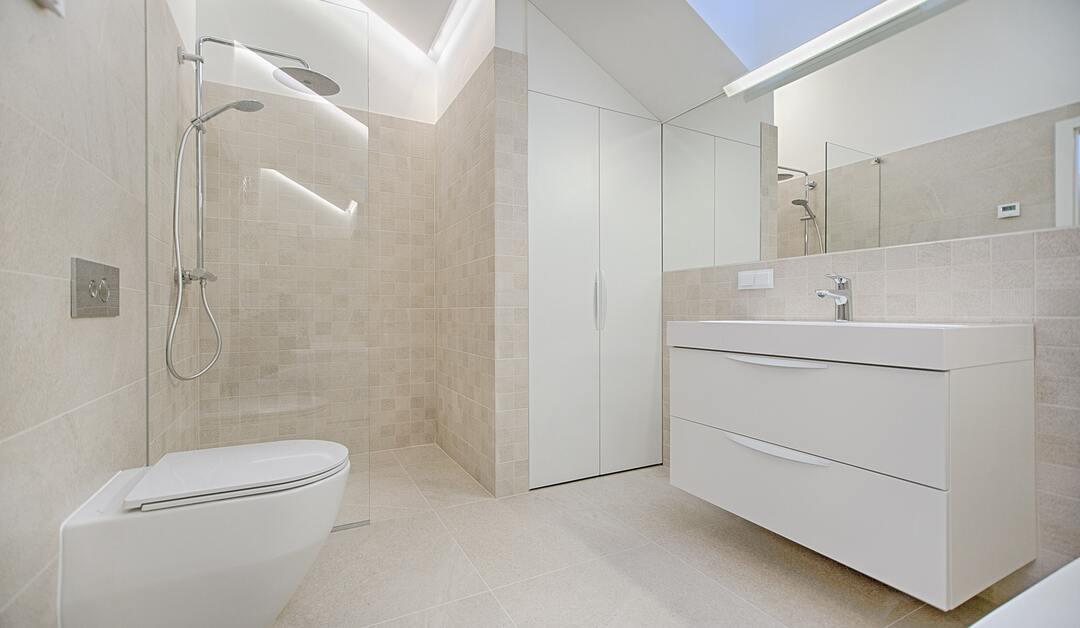 estilo de baño moderno