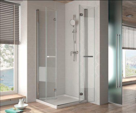 Plato de ducha angular, ¿Cómo tomar medidas para elegir mampara?